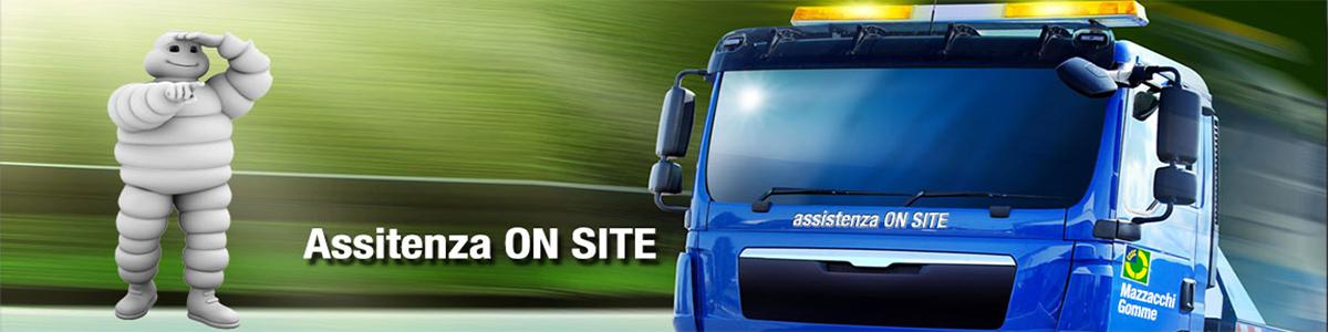 assistenza pneumatici on site